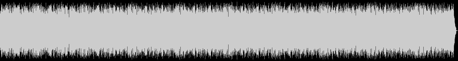 日常系BGM延々ループ5分バージョンの未再生の波形