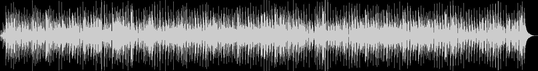 世界の魅力発見的ジャズBGMの未再生の波形