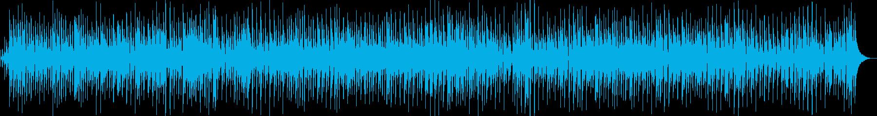 世界の魅力発見的ジャズBGMの再生済みの波形