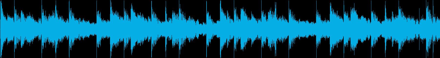 緊張感のあるアンビエントテクノの再生済みの波形