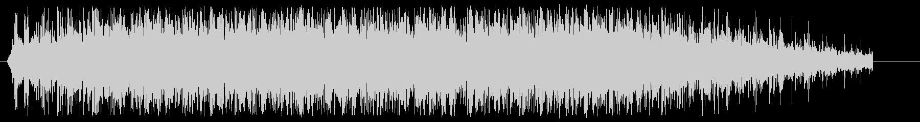 シンプルな拍手(大人数)の音ですの未再生の波形