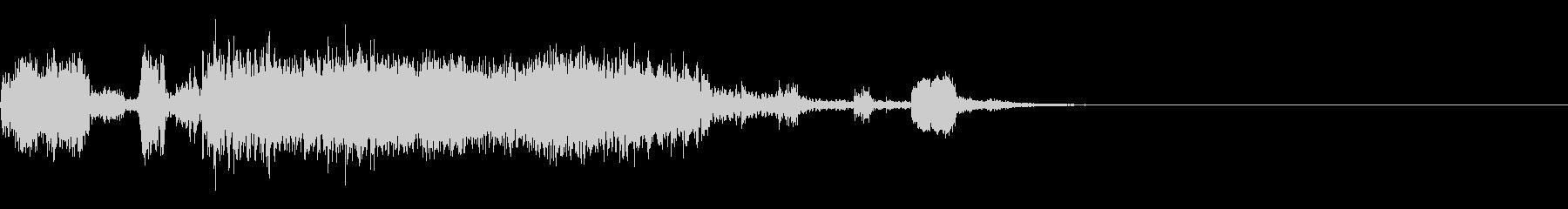 スパーク音-30の未再生の波形