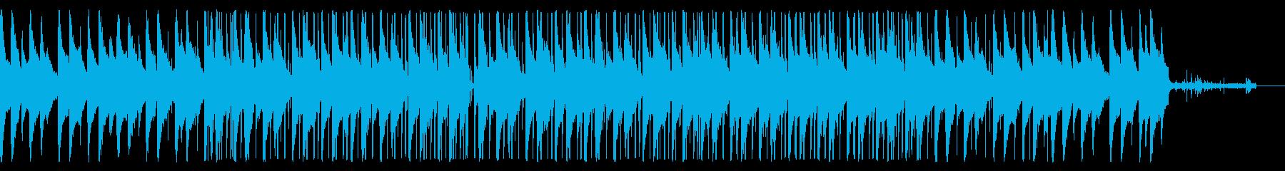 リラックスしたLoFiビートの再生済みの波形