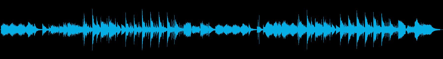 ゆっくり、メロディック、反射的の再生済みの波形
