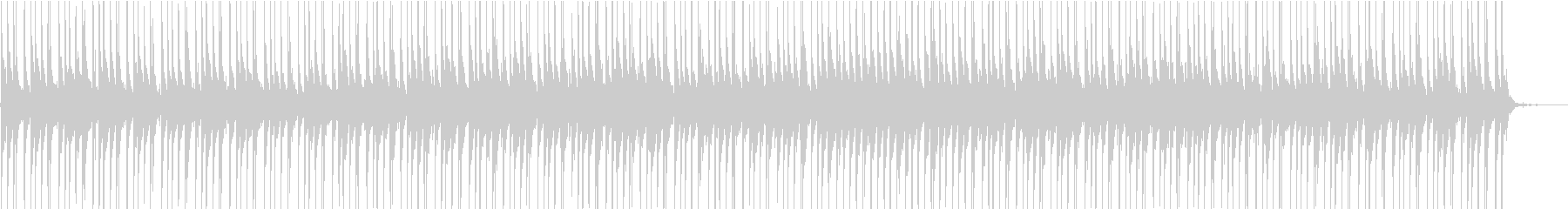 KANTリズミカル無機質BGMの未再生の波形