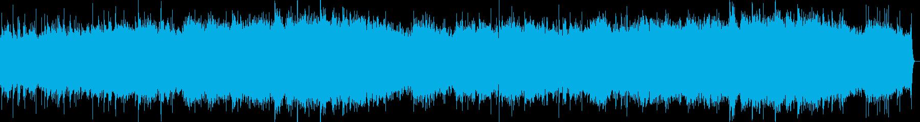 尺八と琴メインのゆったりとしたインストの再生済みの波形