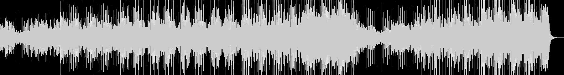 カリンバのおしゃれで楽しいポップスの未再生の波形