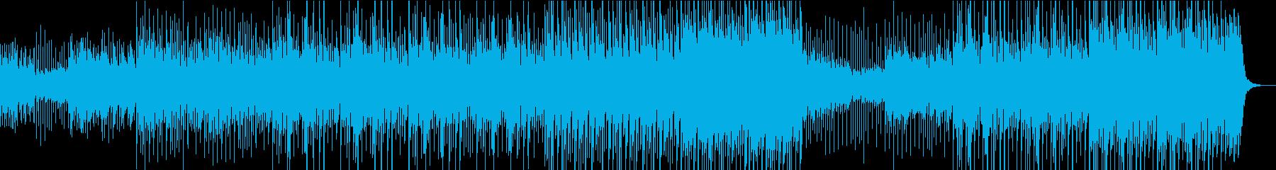 カリンバのおしゃれで楽しいポップスの再生済みの波形