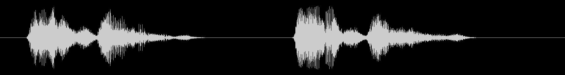 コンピューター、男性の声:バトルス...の未再生の波形