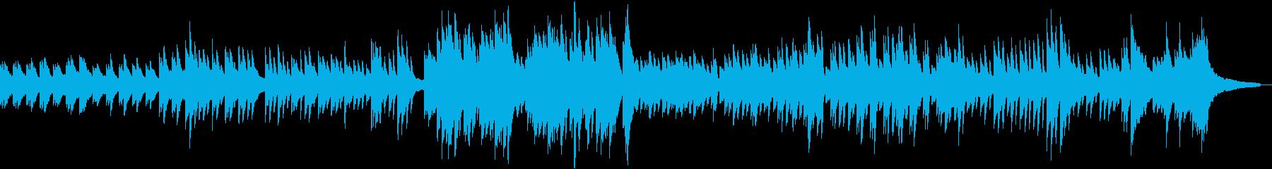 夜を感じさせるピアノBGMの再生済みの波形
