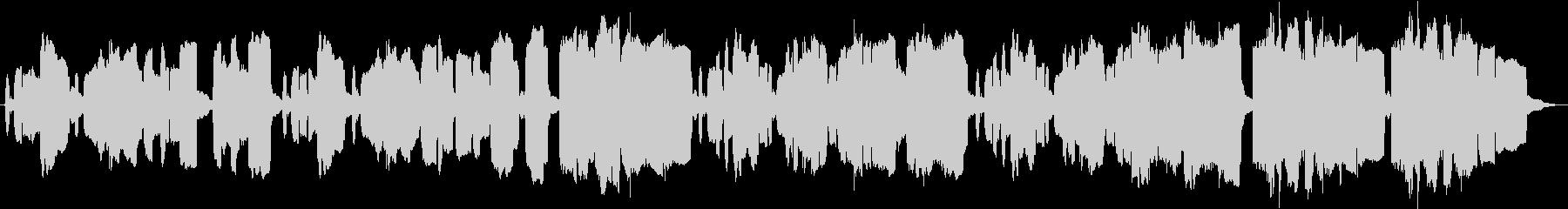 リコーダーでもの悲しく表現した短い曲の未再生の波形