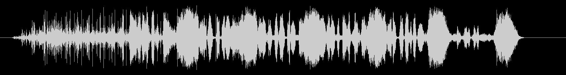 エルロシオビバスアロシオの未再生の波形