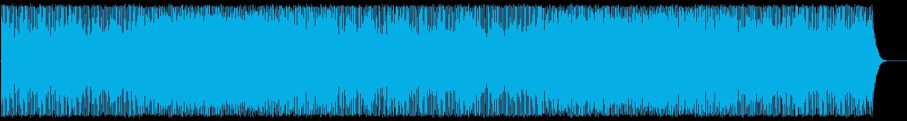中華なデジタルポップの再生済みの波形