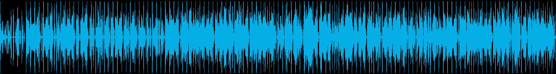 ファンキー グルーヴなシンプルBGM!!の再生済みの波形