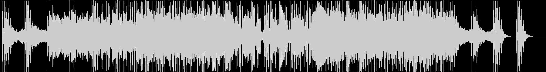 ピアノ+シンセのプログレッシブテクノの未再生の波形