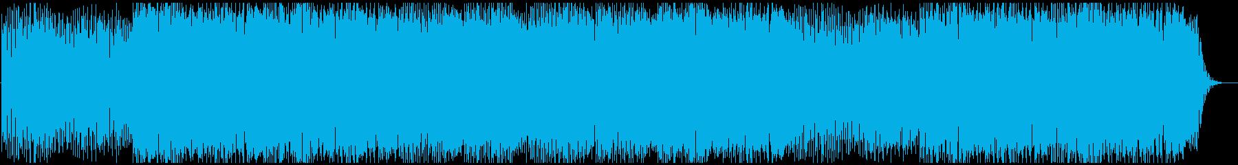モダン テクノ ドラマチック ファ...の再生済みの波形