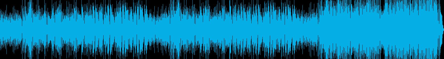 ゆるいラテン調のさわやかなピアノトリオの再生済みの波形