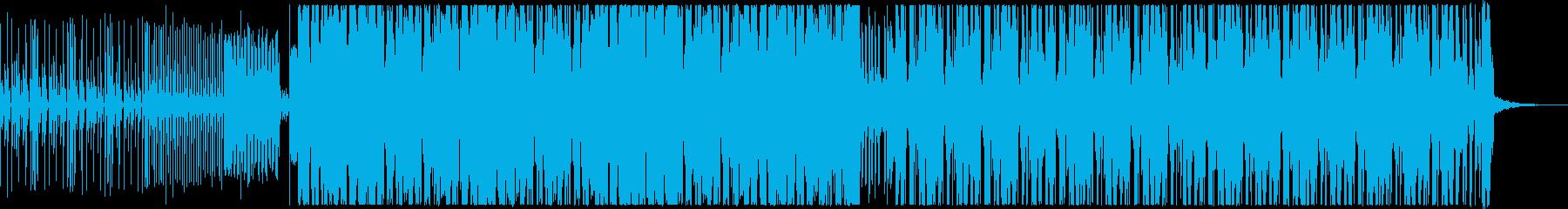 EDM:With Vocalの再生済みの波形