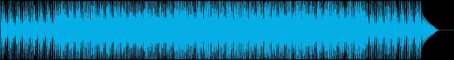 温かいテクノロジー系の再生済みの波形