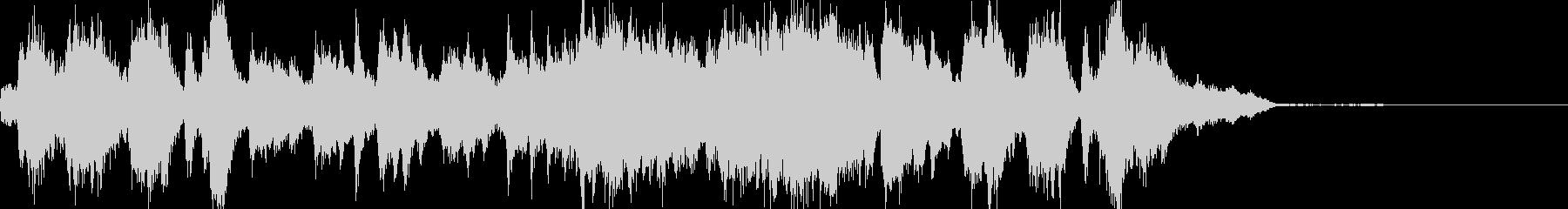 37秒で完結するファンタジーミュージックの未再生の波形