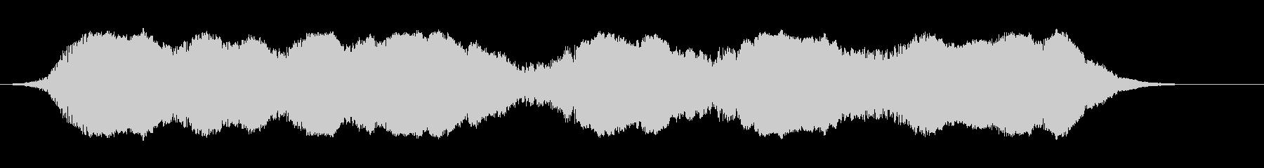 カートインディカー;曲がり角(8車...の未再生の波形