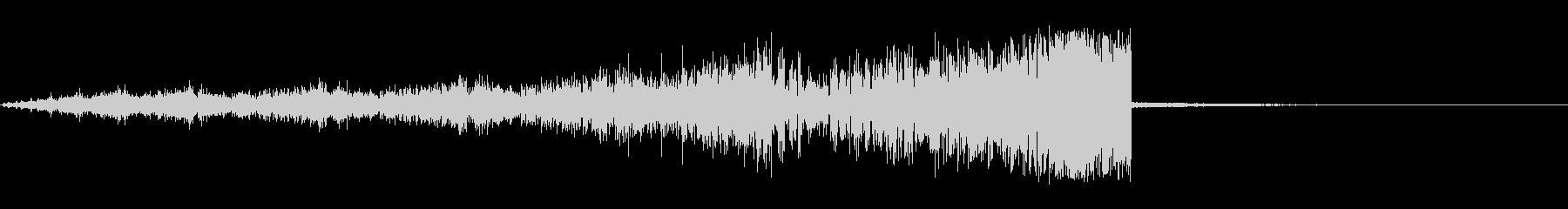 スクリーキー・フラタリング・フーシャ2の未再生の波形