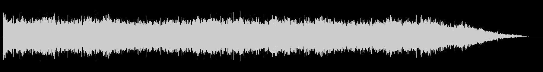 緊張 壊れたピアノのカオス04の未再生の波形