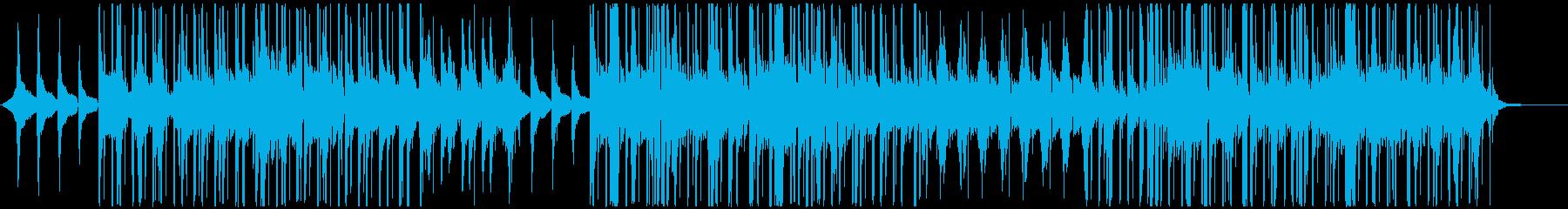 まったりおしゃれなChill-Hopの再生済みの波形