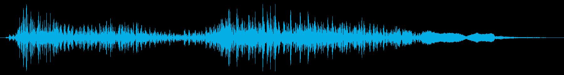 ドラゴン モンスター ダメージ 中の再生済みの波形