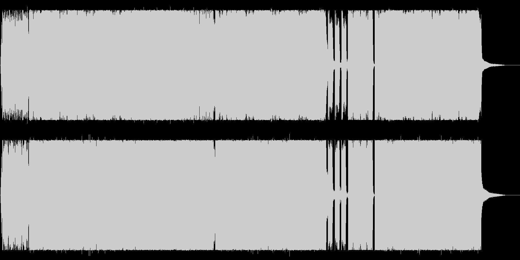 元気でキャッチ―なシンセポップポップスの未再生の波形