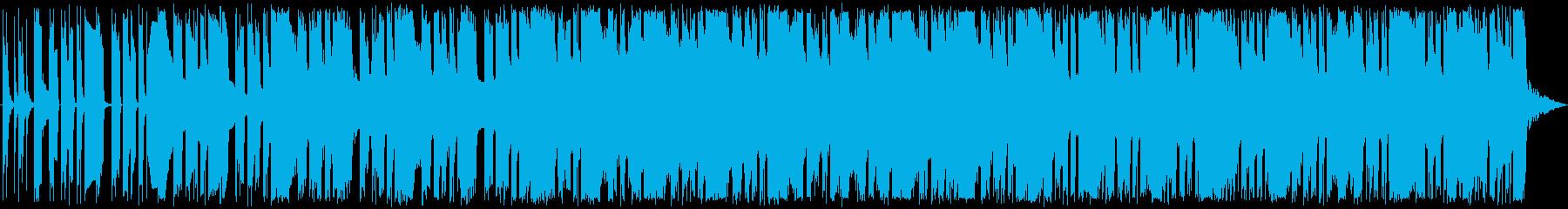 ニュースの一覧を紹介している状況等をイ…の再生済みの波形