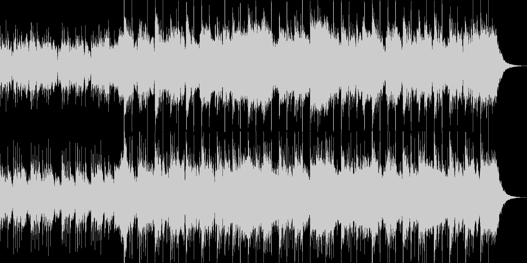 琴と尺八による切なく幻想的なBGMの未再生の波形