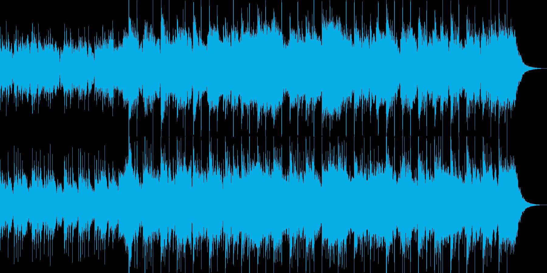 琴と尺八による切なく幻想的なBGMの再生済みの波形