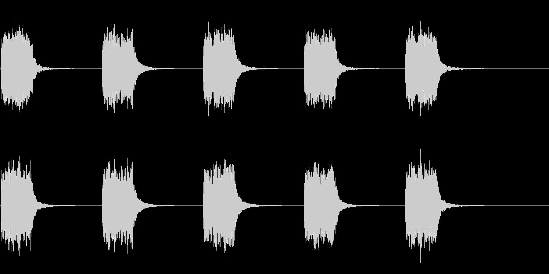 アンティークフランス地方ロータリー...の未再生の波形