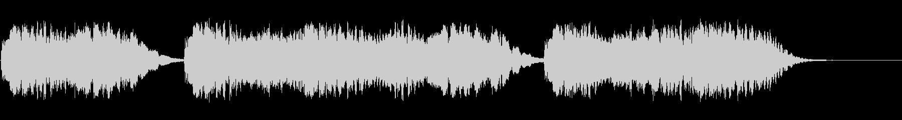 背景音 懐古の未再生の波形