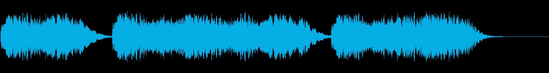 背景音 懐古の再生済みの波形