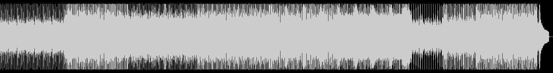 戦場をイメージしたピアノロックの未再生の波形