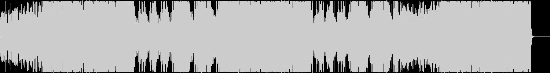 クールで重厚なエレクトロBGMの未再生の波形