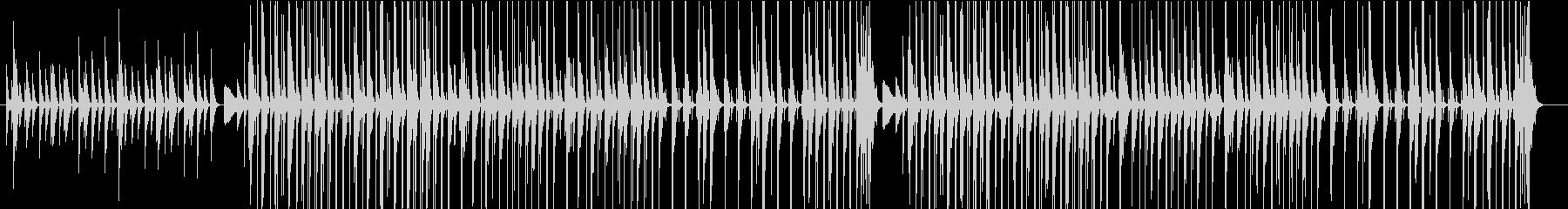 ほのぼのしたアコースティックアンサンブルの未再生の波形