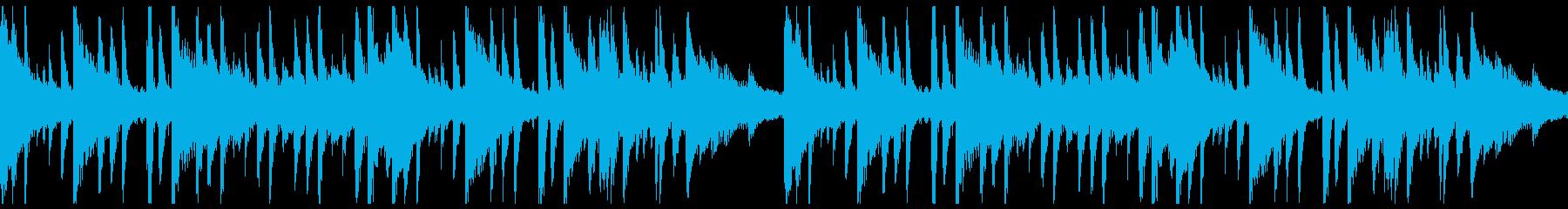 【ループ仕様】ピアノ・ジャジー・おしゃれの再生済みの波形