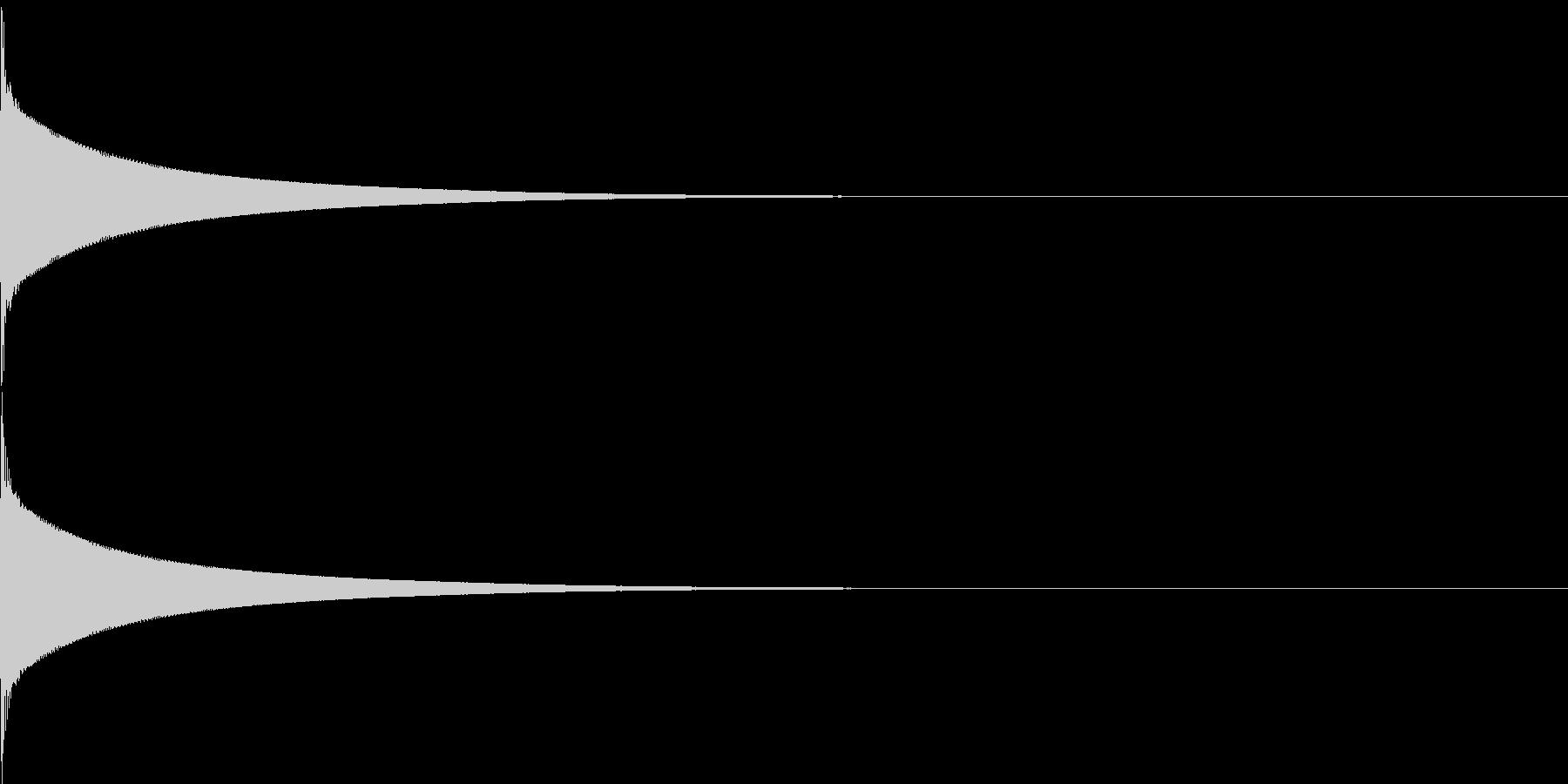 【生録音】カリンバ単音04_C5の未再生の波形