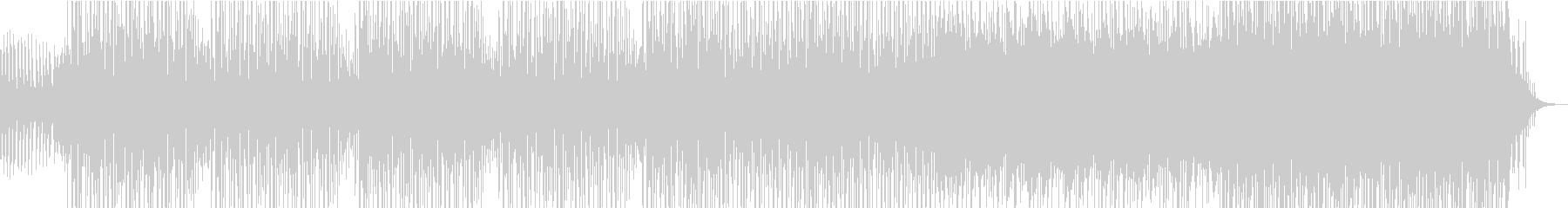 スタイリッシュなハウスミュージックの未再生の波形