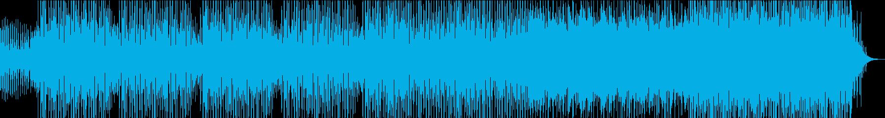 スタイリッシュなハウスミュージックの再生済みの波形