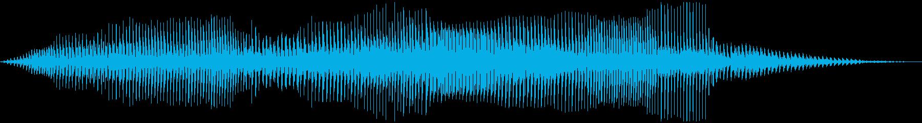 ダートゴーカートの運転の再生済みの波形