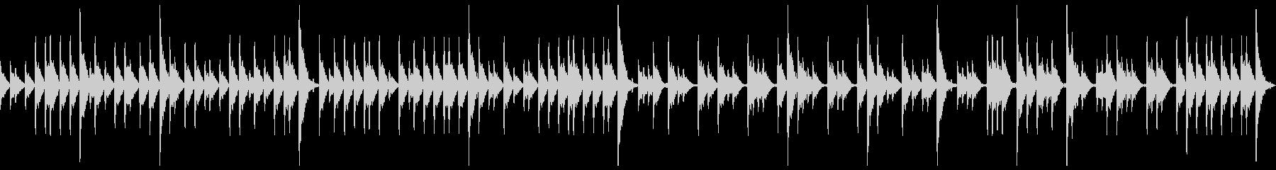 締太鼓ソロ アップ1の未再生の波形