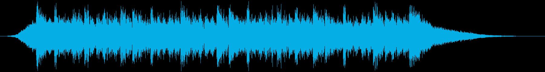 企業VPや映像30、壮大、オーケストラbの再生済みの波形