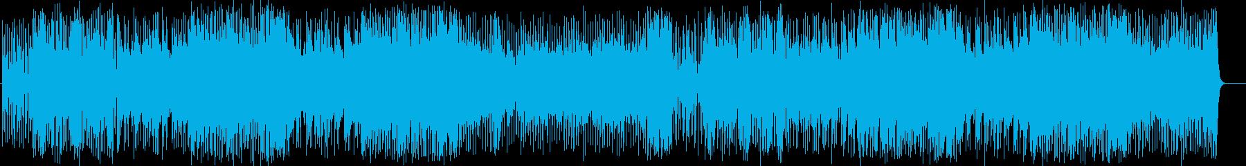 鋭いギターとユニゾンが印象的なナンバーの再生済みの波形