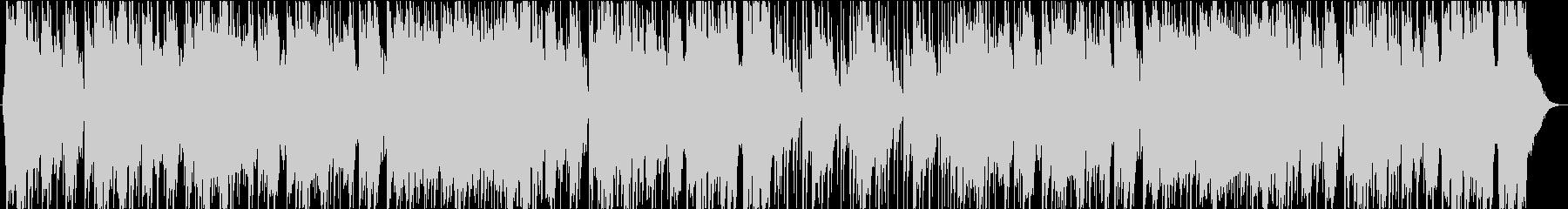 明るい元気なBGM リコーダーの未再生の波形