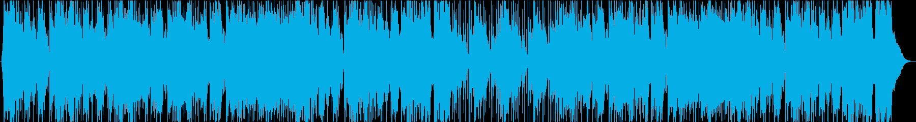明るい元気なBGM リコーダーの再生済みの波形