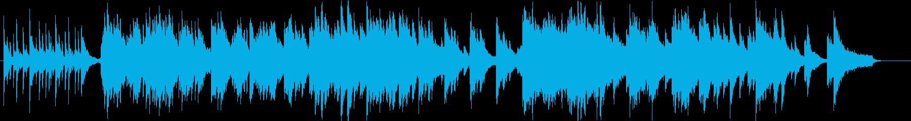 切ない雰囲気のピアノ曲です。の再生済みの波形